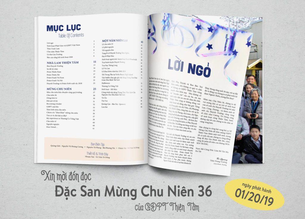 Đặc San Chu Niên 36